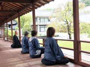 いのちの修行一日体験紹介写真_瞑想